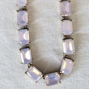 J. Crew pink necklace